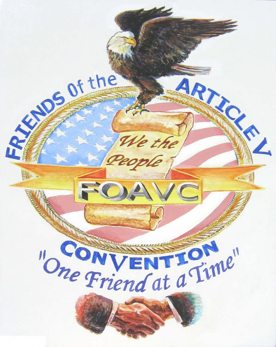 Steve Ladd's Painting of the FOAVC logo...