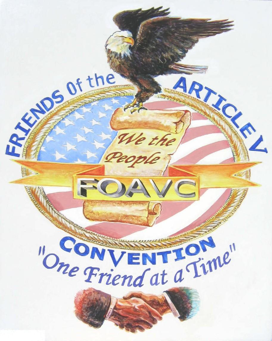 Steve Ladd's Painting of the FOAVC logo...